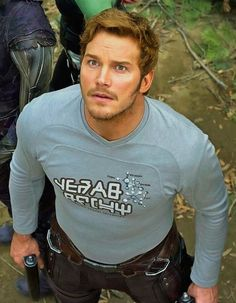 Chris Pratt in guardiands of the galaxy vol. 2. Just watched the movie yesterday!