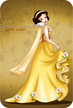 Glamorous Fashion - Snow White by selinmarsou.deviantart.com on @deviantART
