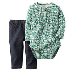 2-Piece Bodysuit & Pant Set   Carters.com