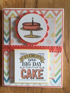 Stampin Up Big Day from Sale-A-Bration 2015