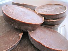 When you need a healthy sweet: So good. Just five ingredients- coconut oil, cocoa powder, almond/peanut butter, honey, vanilla