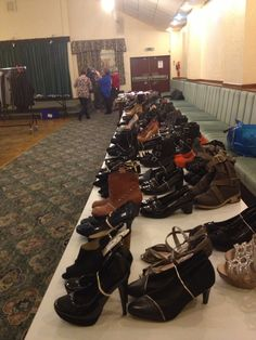 Who doesn't love shoes. Fundraising Ideas, Shoe Sale, Clothes For Sale, Charity, Clothing, Shoes, Outfits, Zapatos, Shoes Outlet