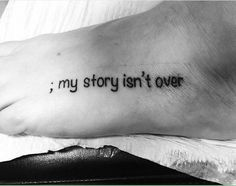 9 beautiful semicolon tattoos our readers shared to destigmatize mental health challenges