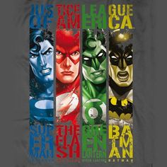 T-Shirt Justice League of America