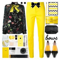 Put a Bow on It! by barbarela11 on Polyvore featuring polyvore fashion style I'm Isola Marras Dsquared2 Marni Givenchy Finesque Rodial Smythson Sloane Stationery Nikon clothing