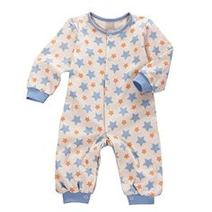 Organic Baby Clothes Bodysuits / Long Sleeves (6m, Blue) ...