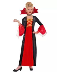 Gothic Princess Child Halloween Costume Girls Size M for sale online Minion Costumes, Halloween Costumes For Girls, Halloween Fancy Dress, Girl Costumes, Costumes For Women, Fairy Tale Costumes, California Costumes, Gothic, Halloween Costume Accessories