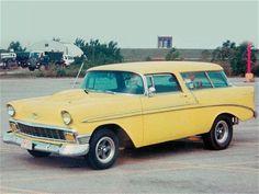 Sierra Gold 1956 Nomad - Super Chevy Magazine