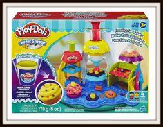 Confitería Glassé de Play-Doh , Haz pasteles y monta tu pastelería con la Confitería Glassé de #Play-Doh de #plastilina que tenemos en oferta por 15,90 euros!! 36% de descuento