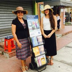 Public witnessing in North Guayaquil. Ecuador. Pic by @sarasantos_jw