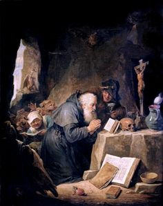 https://flic.kr/p/qaGEBw | IMG_0347 David Teniers II. 1610-1690. Anvers | David Teniers Le Jeune. 1610-1690. Anvers. La Tentation de Saint Antoine. Louvre David Teniers the Younger. 1610-1690. Antwerp. The Temptation of Saint Anthony. Louvre