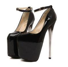 12SKY-302 Pleaser Sexy Shoes 7 Inch Stiletto Heel Two-Band