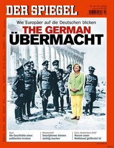 Angela Merkel tra i nazisti nella copertina dello Spiegel. Reportage sulla immagine della Germania in Europa: protestano i lettori