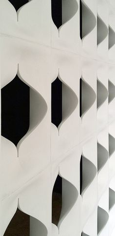 Gypsum room divider LEONE Leone Collection by Divider Design, Facade Design, Screen Design, Displays, Parametric Design, Gypsum, Facade Architecture, Home And Deco, Architectural Elements