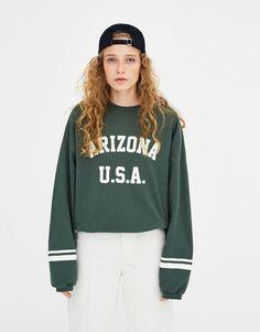 Arizona sweatshirt - Sweatshirts & Hoodies - Clothing - Woman - PULL&BEAR Taiwan