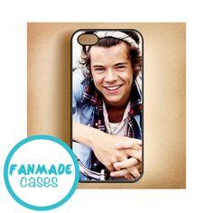 Harry Styles bandana iPhone 4/4s 5/5s/5c & iPod 4/5 Rubber Case on Etsy, $15.00