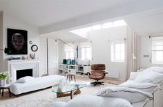 White home with a twist