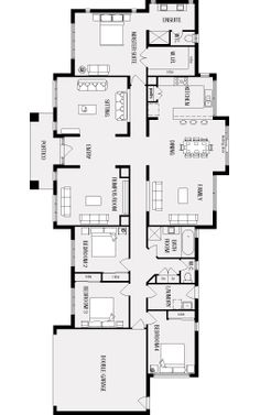 1000 images about house on pinterest modern houses new for Free australian house designs and floor plans