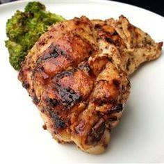 Sweet Hot Mustard Chicken Thighs - Allrecipes.com