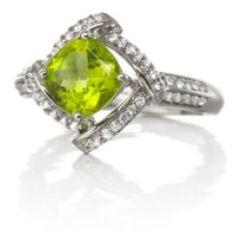 Belk%3Flayer%3D0%26src%3D5400031_FST8SS2PEN_A_300_T10L00%26layer%3Dcomp%26 Best Deal Belk & Co. Sterling Silver Peridot and Diamond Ring