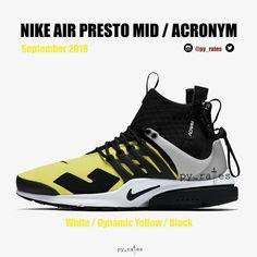 2bd97d7e2f1 Kommt der ACRONYM x Nike Air Presto Mid dieses Jahr zurück