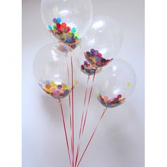 Decoration for the register signing table? confetti balloon packs by bubblegum balloons   notonthehighstreet.com