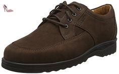 Ganter ERIC, Weite I, Derby homme - Marron - Braun (espresso 2000), 48 EU (13 UK) - Chaussures ganter (*Partner-Link)