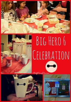 How To Have A Big Hero 6 Celebration #BigHero6Release #ad