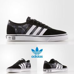 0c07e79892858 Adidas Original ADI-EASE X MHAK Sneakers Black White CG4868 SZ 4-11 Limited