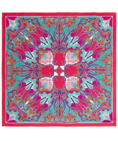 liberty of london building pink silk scarf | Print Silk Scarf, Liberty London. Shop the latest Liberty London ...