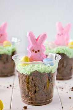 fullcravings:  Bunny Dirt Cups