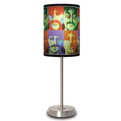 The Beatles Sea of Science Lamp now featured on Fab.