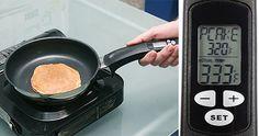 digital thermometer frying pan
