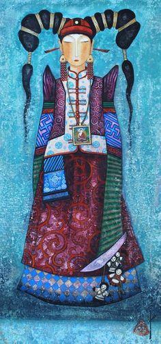 Zayasaikhan Sambuu, 1975 | Tutt'Art@ | Pittura * Scultura * Poesia * Musica |