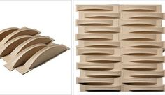 Acoustic Weave 3D Wallpaper from Mioculture