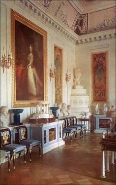 Library of Paul I - Pavlovsk Palace & Park - Country Residence of the Russian Imperial Family