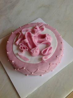 Gâteau d'anniversaire chaussons de danse classique pour Lilou - Ballet danse…