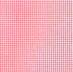 """Fabric Finders, Inc. 1/16"""" Coral Gingham"""