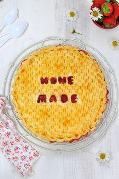 Pastel de fresas (Strawberry pie). Receta y fotos