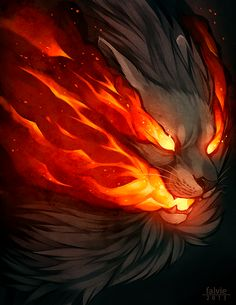 Beautiful animal illustrations by Canada - based Summer G. Magical Creatures, Fantasy Creatures, Illustrations, Illustration Art, Doodle Drawing, Lion Art, Anime Wolf, Anime Lion, Anime Animals