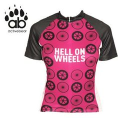 80f4ca830 Hill Killer Women s Hell On Wheels Cycling Jersey