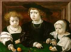 Jan Gossaert, The Children of Christian II, King of Denmark (1481-1559), 1526  | The Royal Collection