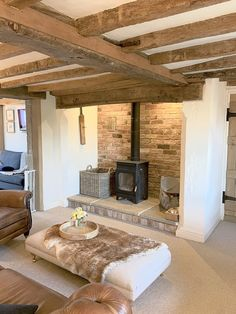 Old Stone Cottage Case Study Country Cottage Living Room, Old Cottage, Cottage Homes, Cottage Style, Small Cottage Interiors, Cottage Lounge, Cottage Fireplace, Inglenook Fireplace, Old Stone Houses