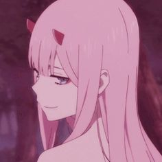 darling in the frankxx Cute Anime Profile Pictures, Cute Anime Pics, Anime Girl Cute, Cute Anime Couples, Rosas Gif, Boca Anime, Cool Illusions, Cat Icon, Anime Wallpaper Live
