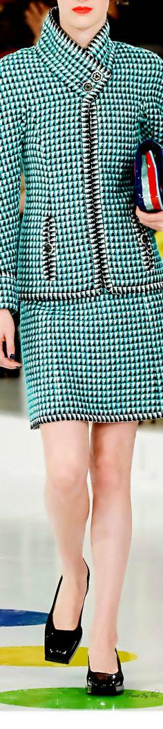 Chanel ~ Resort Herringbone Skirt Suit 2016