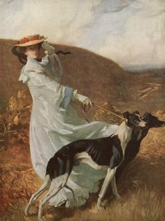 Diana of the Uplands (1903-1904) oil painting by Charles Wellington Furse, (1868-1904).