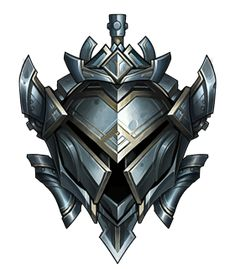 Professional LoL Boosting and Coaching service. ELO Boosting your League since 2015 providing fastest and safest experience. League Of Legends Logo, League Of Legends Account, Game Ui Design, Icon Design, Thumb Wars, Medieval, Shield Icon, Elf Art, Game Icon