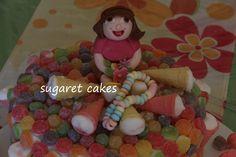 dora candy cake
