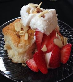 Strawberry Shortcake Bar-- yum!