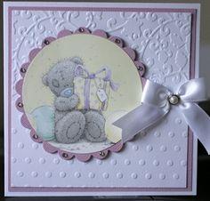 Tatty Teddy by: Baby Cards, Kids Cards, Craft Cards, New Born Baby Card, Embossed Christmas Cards, Girl Birthday Cards, Tatty Teddy, Animal Cards, Heartfelt Creations